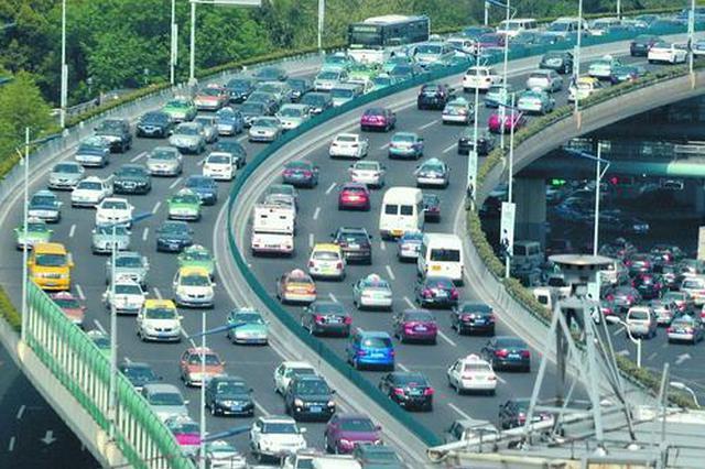 上海开学叠加周一早高峰显拥堵:部分路段时速仅10公里