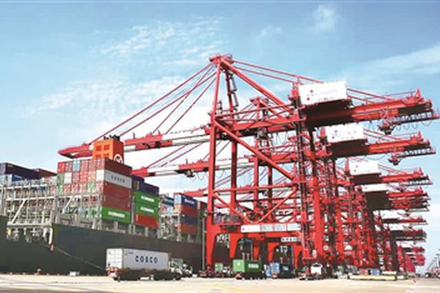 上海港三大集裝箱片區淡季不淡 今年目標4400萬標準箱