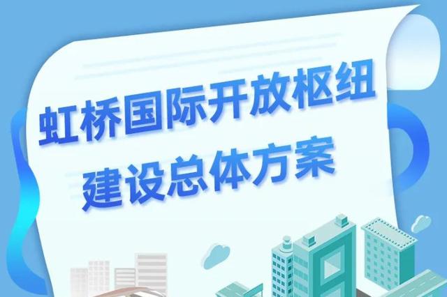 虹橋國際開放樞紐建設總體方案:到2035年形成一核兩帶
