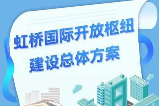 虹桥国际开放枢纽建设总体方案公布 到2035形成一核两带