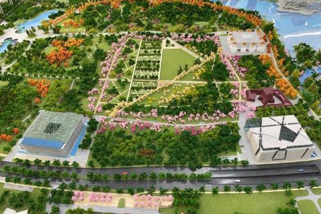 世博文化公园8月底竣工 打造文化教育展览展示的新空间