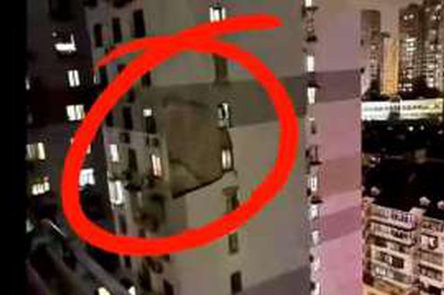 上海黄浦区发生高层住宅外墙脱落 一居民不幸被砸中