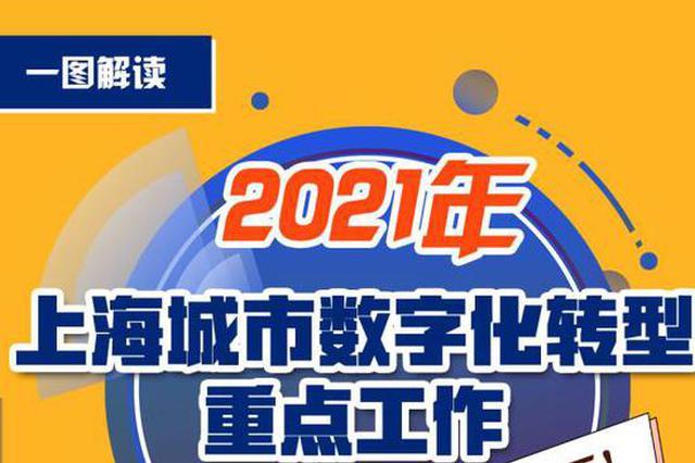 上海推进城市数字化转型 将打造11个标杆应用