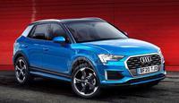奥迪将推全新小型SUV车型 搭1.0T引擎