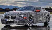新BMW 8系量產版6月15日亮相 內飾首曝