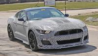 全新Mustang Shelby GT500谍照 明年发布