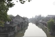 枫泾古镇清晨的美