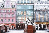 欧洲雪景观赏