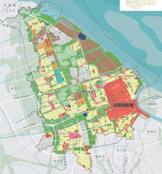 吴淞创新城规划范围