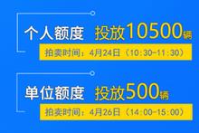 4月份上海拍牌24日举行