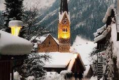 奥地利小镇Hallstatt