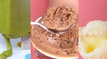 冰激凌的3种精确吃法