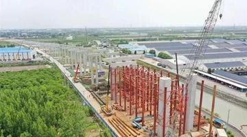 昆阳路越江工程建设新进展