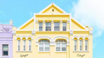百慕大年夜彩色房子