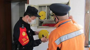 铁路上海北郊站安全大排查