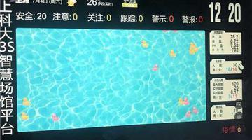 上海启用全国首套泳客安全预警系统