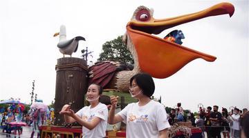 迪士尼推花车巡游手语翻译服务