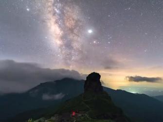 梵净山绝美星空延时