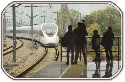 """高铁开通,助推了沿线城市快速融入长三角""""一小时交通圈""""。ICphoto"""
