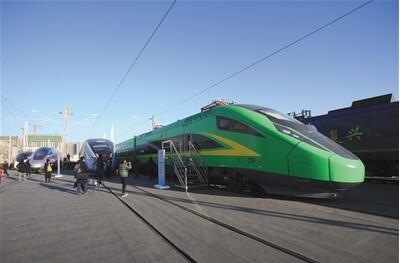 时速160公里CR200J型复兴号动车组