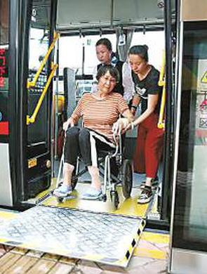 沪新购公交车将釆用低地板车辆