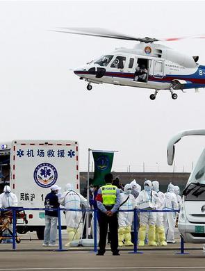 浦东机场举行全要素应急救援综合演练