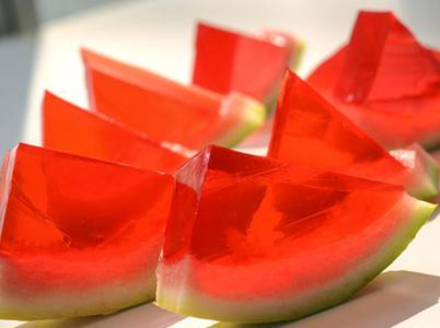 夏日标配的西瓜果冻做法