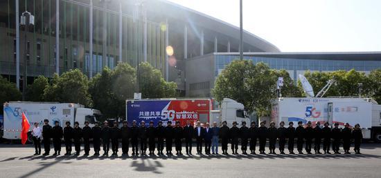 中国电信顶尖服务保障进博会