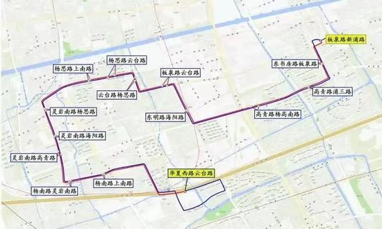 上海开通、延伸多条公交线路:新辟浦东80路 C7线调整