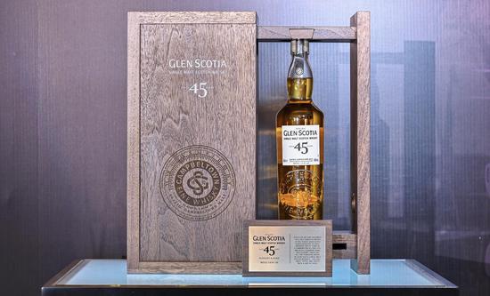 苏格兰罗曼湖集团成立中国总部 格兰帝45年威士忌新品限量首发