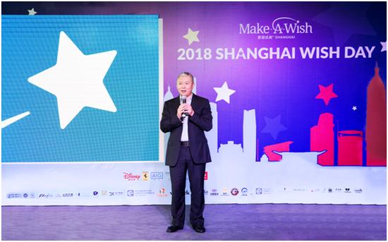 上海愿望成真慈善基金会理事长黄德利先生
