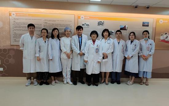 图说:中和抗体临床试验项目研究团队
