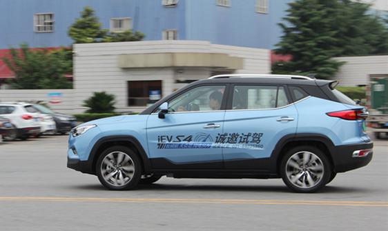 江淮iEVS4上海特供版媒体试驾成功举办