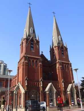 徐家汇天主教堂重装亮相
