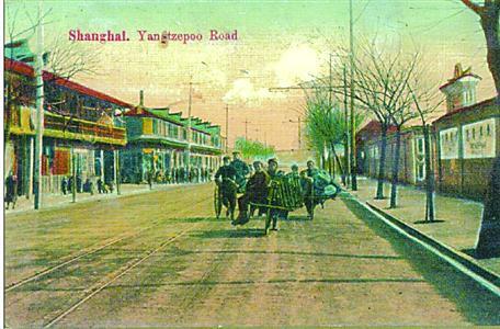 画家笔下1910年前后的杨树浦路