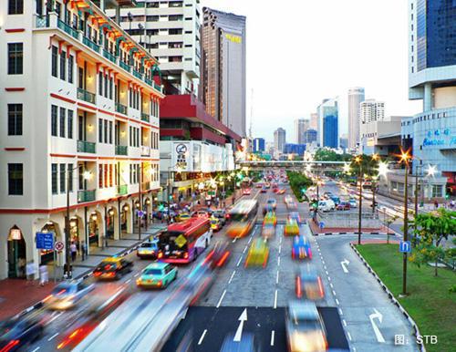 新加坡街头