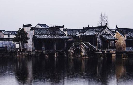 """黄山南麓""""中国风水第一村"""" 幽静神秘的""""风水宝地"""""""