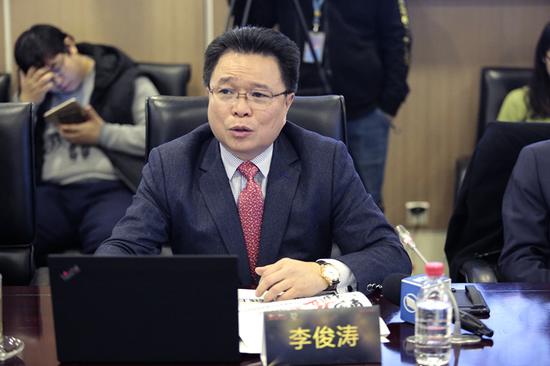 """国美零售高级副总裁李俊涛发布""""黑伍""""营销策略"""