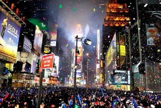 纽约 纽约时代广场