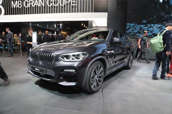 2018日内瓦车展:宝马全新X4正式发布