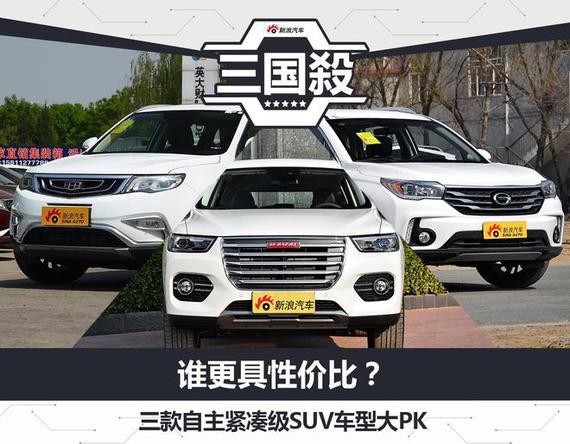 谁更具性价比 自主紧凑级SUV车型大PK