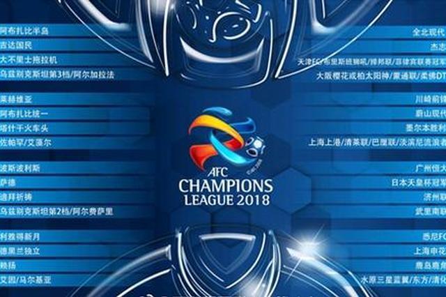 上海双雄亚冠对手出炉:申花遇老对手 上港需打附加赛