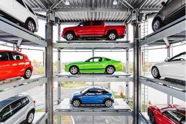 全国首台汽车自动贩卖机亮相上海 刷脸就能把车开走