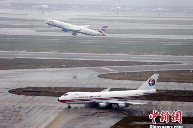 上海年航空货量首次突破400万吨 位列全球第三