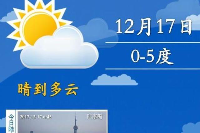 申城入冬来首次跌至冰点 郊区最低温达-5度有冰冻