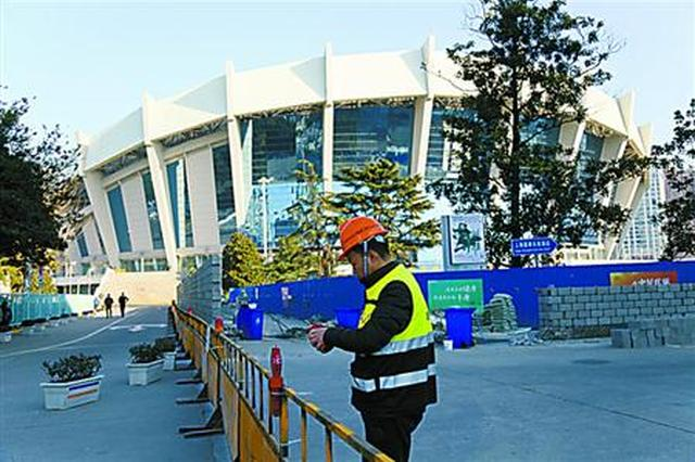 徐家汇体育公园改造工程启动 将新建下沉式体育综合体
