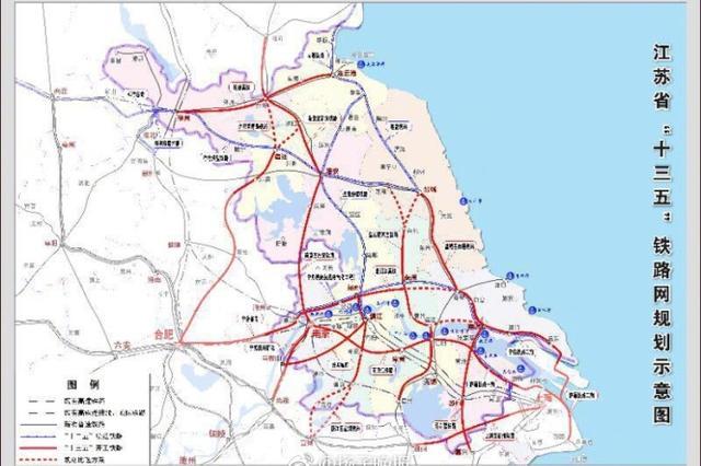 盐通铁路正式开工 将打通苏北城市往上海等地最快路径