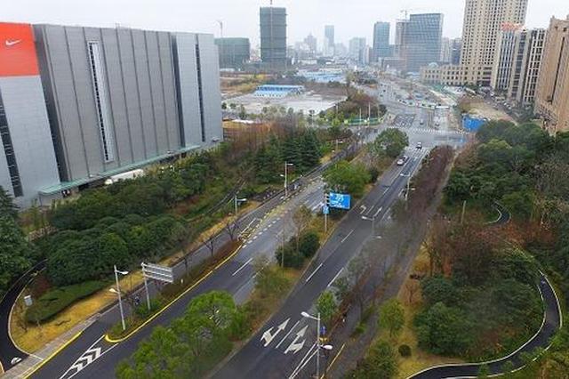 杨浦新江湾城区域绿道超10公里 城市生态绿廊渐形成