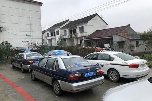 沪2辆克隆出租车套12张车牌 行驶里程均超70万公里