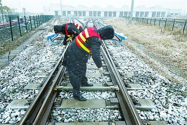 上海首场大雪如约而至 本周末仍有少量雨夹雪